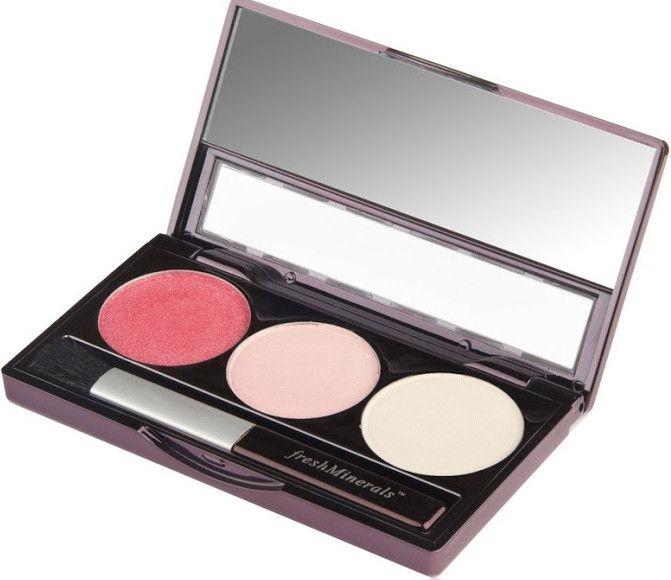 Трехцветные минеральные тени для век - FreshMinerals Mineral Triple Eyeshadow