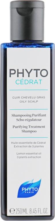 Шампунь себорегулирующий для жирных волос - Phytocedrat Sebo-Regulating Shampoo