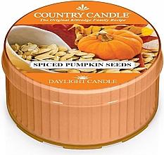 Духи, Парфюмерия, косметика Чайная свеча - Country Candle Spiced Pumpkin Seeds Daylight