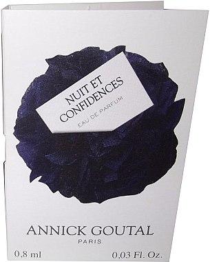 Annick Goutal Nuit Et Confidences - Парфюмированная вода (пробник)