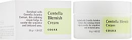 Духи, Парфюмерия, косметика Заживляющий крем с центеллой - Cosrx Centella Blemish Cream
