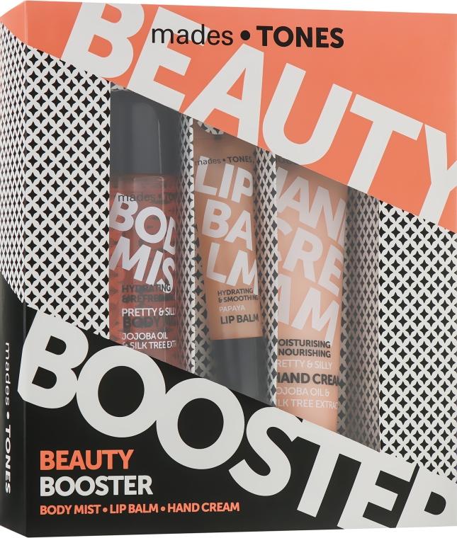 "Набор ""Красотка"" - Mades Cosmetics Pretty&Silly (b/mist/50ml + lip/balm/15ml + h/cr/65ml)"