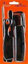 Духи, Парфюмерия, косметика Набор расчесок, 60311, черный - Top Choice