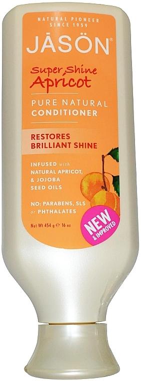 Кондиціонер для волосся - Jason Natural Cosmetics Apricot Pure Natural Conditioner — фото N1