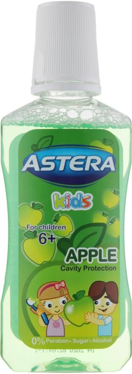 Ополаскиватель для полости рта - Astera Kids Apple