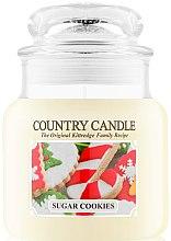Парфумерія, косметика Ароматична свічка - Country Candle Sugar Cookies