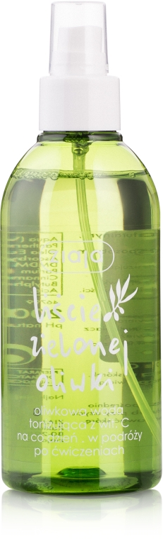 "Тонизирующая вода с витамином С ""Листья оливы"" - Ziaja Olive Leaf Water"