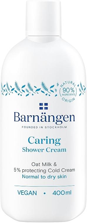 Крем-гель для душа с овсяным молочком для нормальной и сухой кожи - Barnangen Nordic Care Caring Shower Cream