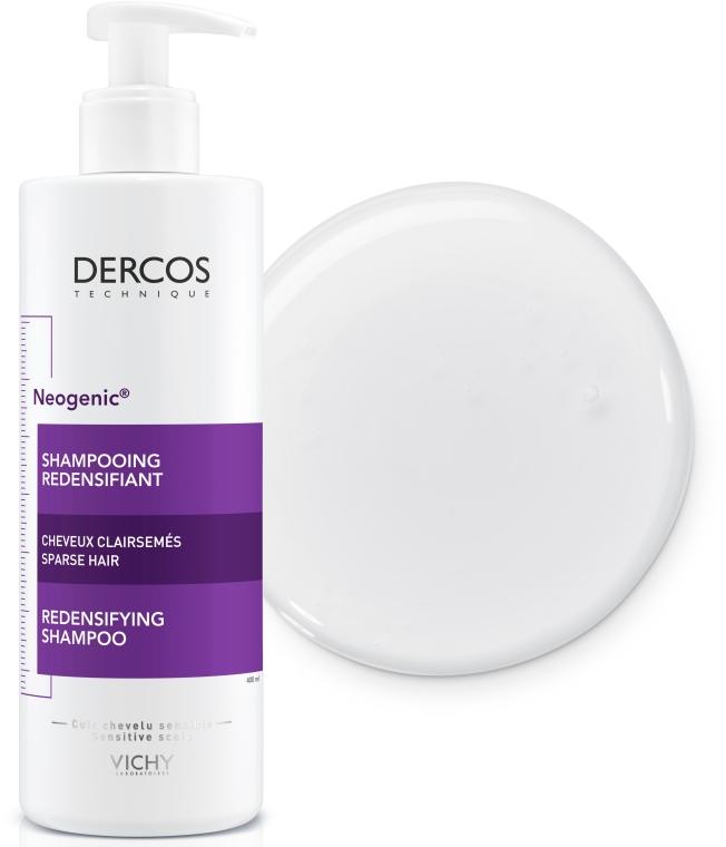 Укрепляющий шампунь для повышения густоты волос со Стемоксидином - Vichy Dercos Neogenic Redensifying Shampoo — фото N8