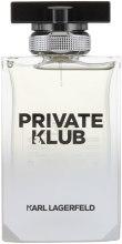Духи, Парфюмерия, косметика Karl Lagerfeld Private Klub For Men - Туалетная вода (тестер без крышечки)