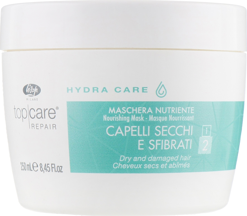 Интенсивная питающая маска - Lisap Top Care Repair Hydra Care Nourishing Mask — фото N1