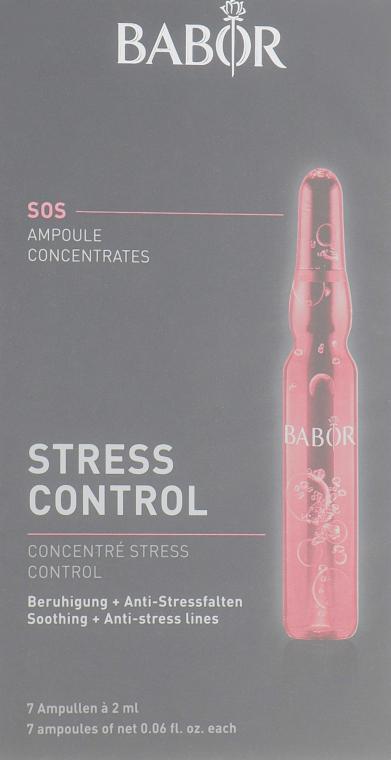 """Ампулы для лица """"Контроль стресса"""" - Babor Ampoule Concentrates SOS Stress Control"""