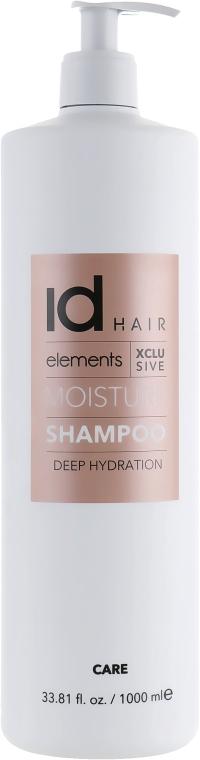 Зволожувальний шампунь для волосся - idHair Elements Xclusive Moisture Shampoo — фото N5