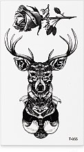 Духи, Парфюмерия, косметика Стикер-тату, 6х11.5 см, T-055 - Omkara