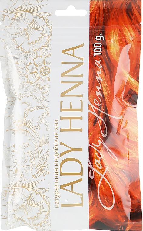 Натуральная индийская хна - Lady Henna