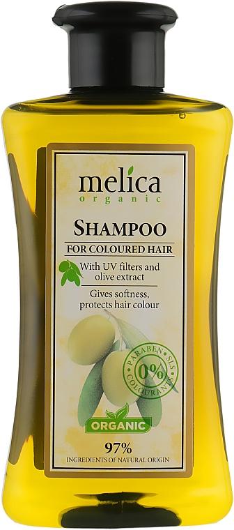Шампунь для окрашенных волос - Melica Organic For Coloured Hair Shampoo