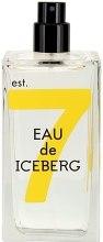 Духи, Парфюмерия, косметика Iceberg Eau de Iceberg Sandalwood - Туалетная вода (тестер без крышечки)