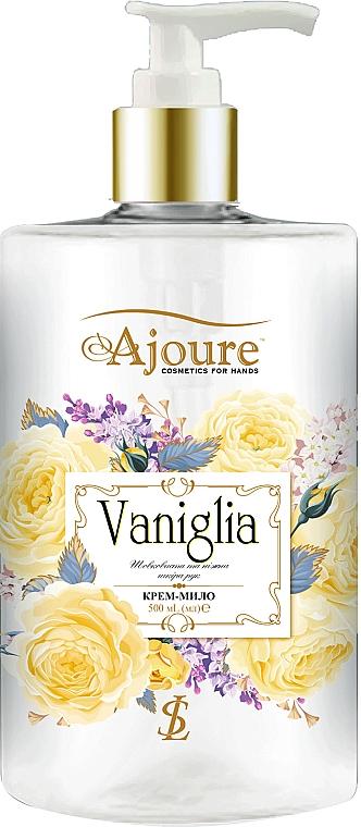 """Крем-мыло для рук """"Ваниль"""" - Ajoure"""