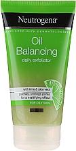 Духи, Парфюмерия, косметика Ежедневный пилинг - Neutrogena Oil Balancing Daily Exfoliator
