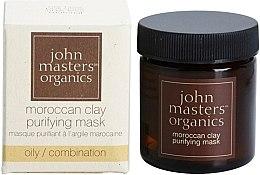 Духи, Парфюмерия, косметика Очищающая маска для лица - John Masters Organics Moroccan Clay Purifying Mask