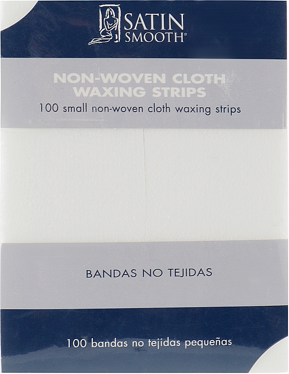 Полоски бумажные маленькие, 100шт - Satin Smooth