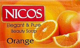 """Духи, Парфюмерия, косметика Мыло косметическое """"Апельсиновое"""" - Nicos Beauty Orange Soap"""