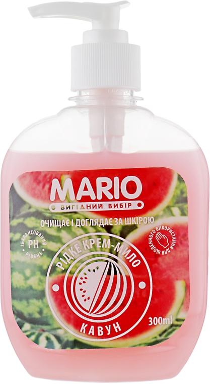 """Крем-мыло """"Арбуз"""" - Mario"""