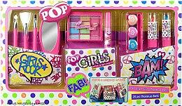 Духи, Парфюмерия, косметика Игровой набор детской декоративной косметики - Markwins Pop Girl