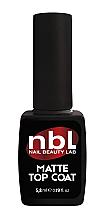 Духи, Парфюмерия, косметика Матовый топ для гель-лака - Jerden NBL Nail Beauty Lab Rubber Top Coat