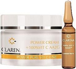 Духи, Парфюмерия, косметика Крем со 100% активным витамином С и экстрактом из шелка - Clarena Power Cream 100% Vit C Aa2g