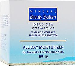 Духи, Парфюмерия, косметика Увлажняющий дневной крем для лица для нормальной и комбинированной кожи - Mineral Beauty System All Day Moisturizer SPF 10