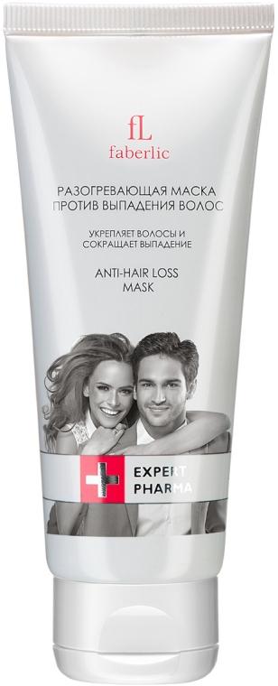 Разогревающая маска против выпадения волос - Faberlic Expert Pharma Anti-Hair Loss Mask