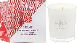 """Парфумерія, косметика Парфумована сівчка """"Африканські пригоди"""" - Mades Cosmetics African Advanture Scented Candle"""