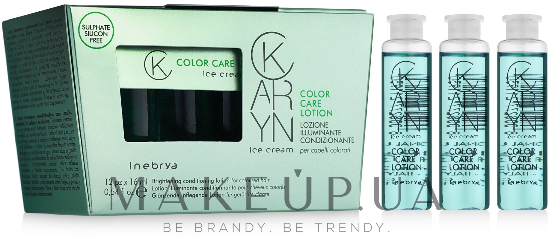 Лосьон для окрашенных волос - Inebrya Karyn Color Care Lotion — фото 12x16ml