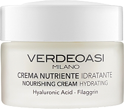 Духи, Парфюмерия, косметика Питательный увлажняющий крем - Verdeoasi Nourishing Cream Hydrating