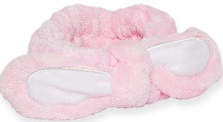 Повязка для волос с бантом розовая - Mr.Scrubber
