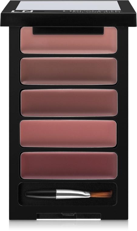 Набор помад для губ - LN Professional Lip Palette Colour Rich