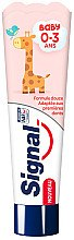 Духи, Парфюмерия, косметика Детская зубная паста - Signal Baby Toothpaste 0-3 Years