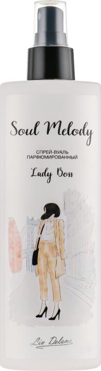 "Спрей-вуаль парфюмированный ""Lady Boss"" - Liv Delano Soul Melody"