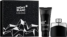 Духи, Парфюмерия, косметика Montblanc Legend - Набор (edt/50ml + sh/gel/100ml)