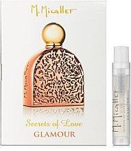 Духи, Парфюмерия, косметика M. Micallef Secrets of Love Glamour - Парфюмированная вода (пробник)