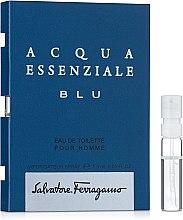 Духи, Парфюмерия, косметика Salvatore Ferragamo Acqua Essenziale Blu - Туалетная вода (пробник)