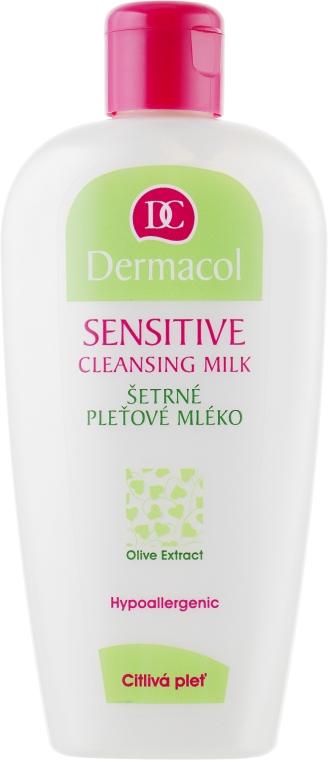 Нежное молочко для снятия макияжа для чувствительной кожи - Dermacol Sensitive Cleansing Milk