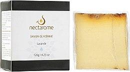 Духи, Парфюмерия, косметика Мыло глицериновое с лавандой - Nectarome Soap With Lavender