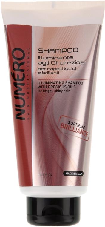 Шампунь для придания блеска c ценными маслами - Brelil Professional Numero Supreme Brilliance Shampoo