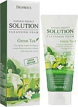 Духи, Парфюмерия, косметика Пенка для умывания с экстрактом зеленого чая - Deoproce Natural Perfect Solution Cleansing Foam Green Tea