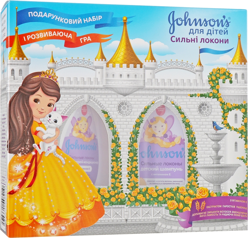 Набор - Johnson's® Baby (cond/200ml + shm/300ml)