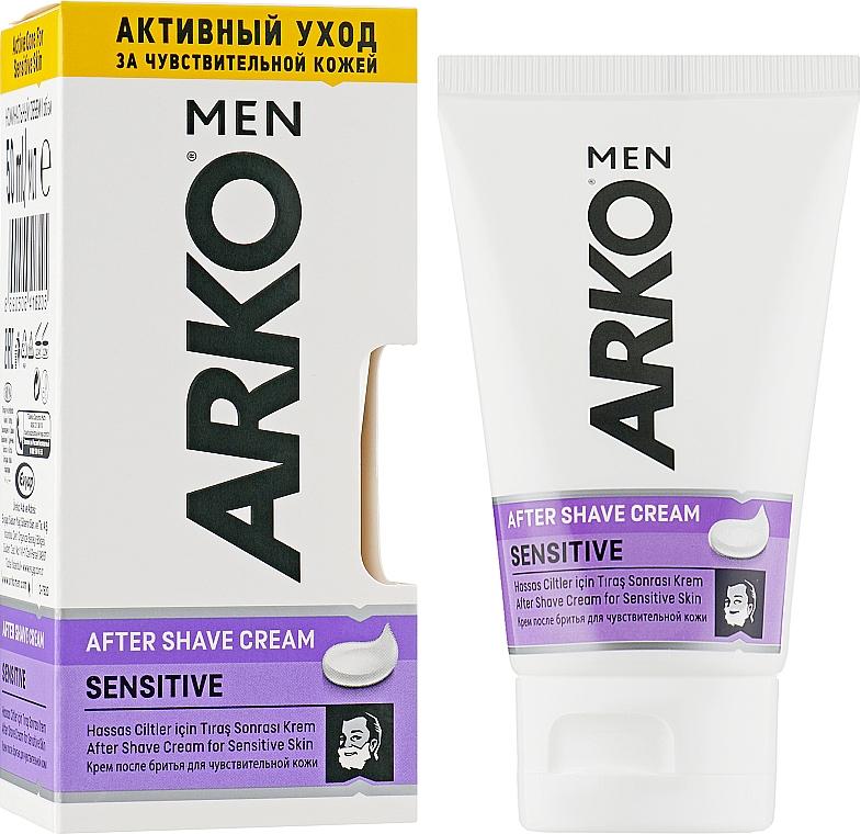 """Крем после бритья """"Sensitive"""" - Arko Men"""