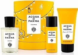 Парфумерія, косметика Acqua Di Parma Colonia - Набір (edc/100ml + sh/gel/75ml + deo/50ml)