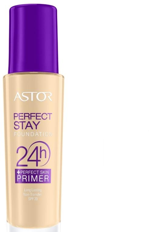 Тональный крем - Astor 24h Foundation + Perfect Skin Primer